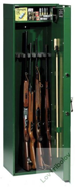Sef-kaseta za oružje KO8 (8 pušaka) Inox-prerada