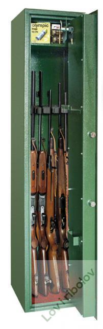 Sef-kaseta za oružje KO5 (5pušaka) Inox-prerada
