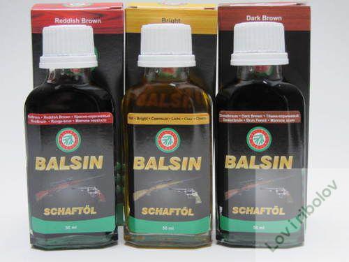 Ballistol Balsin ulje za odrzavanje drvenih delova oruzja (shaftol) 50ml