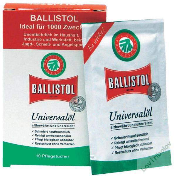 Ballistol maramice za brisanje oružja - 1 komad