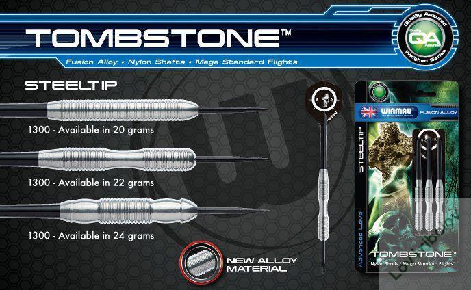 Pikado set Winmau Tombstone 16-18gr softip