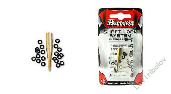 Harrows shaft lock system 30 rings