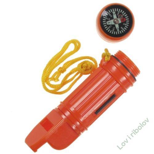 Pištaljka sa kompasom - set za preživljavanje 5 u 1 MFH 27113