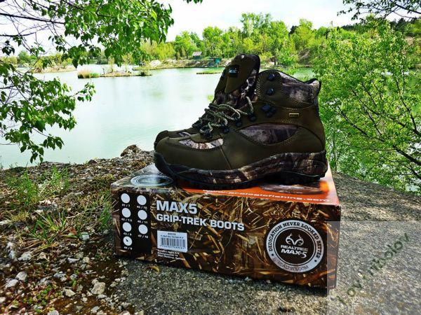 Prologic MAX 5 Grip-trek Realtree