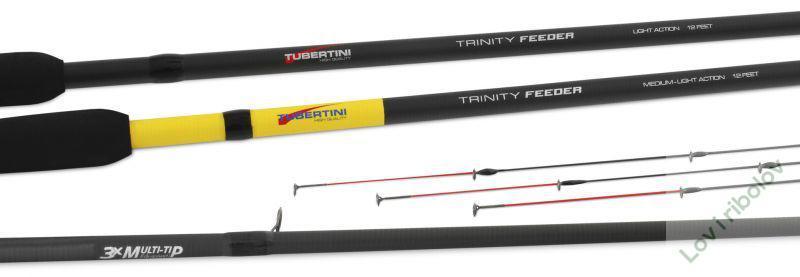 Tubertini Trinity feeder 12' light action