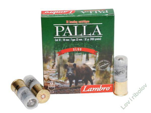 Lovacki patron Lambro Palla 12/70 32gr