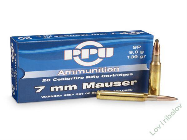 Karabinski metak PPU 7x57 9gr