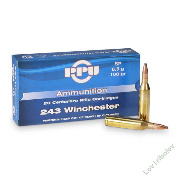 Karabinski metak .243 Winchester 6,5gr