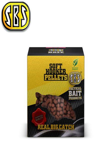 SBS Soft hooker pellets M-1 6-8mm 100gr