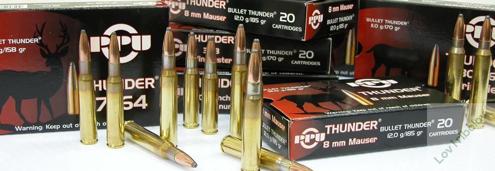 Karabinski metak PPU Grom 7x64 SP 10,2gr