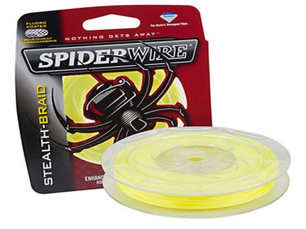 Spiderwire Stealth braid yellow 137m/0,20mm