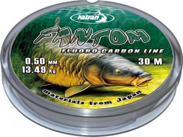 Katran Fantom fluoro carbon 30m/0,25mm