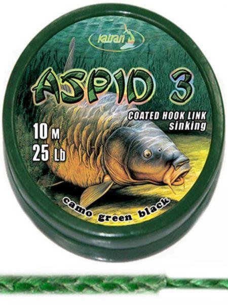Katran Aspid 3 coated 20m sinking (15lb,20lb,25lb)