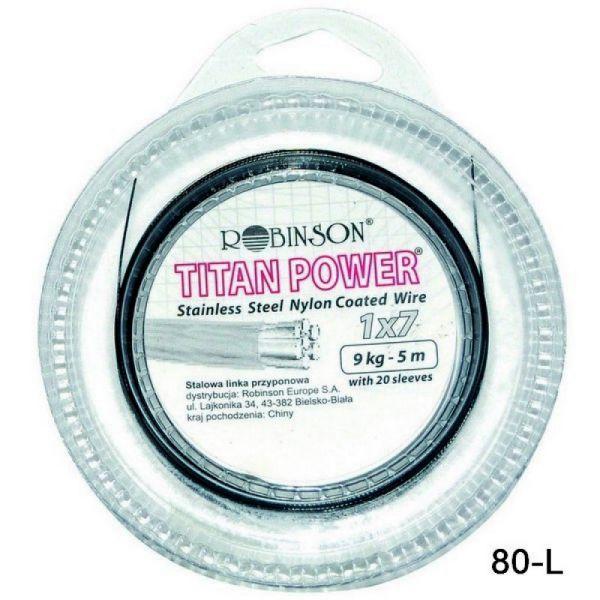 Robinson Titan power leader 1x7/5m/9kg (sa klemama)