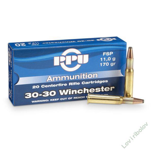Karabinski metak PPU .30-30 Winchester 9,7gr/11gr