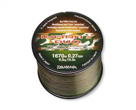 Daiwa Infinity Duo Camo 0,31/1210m