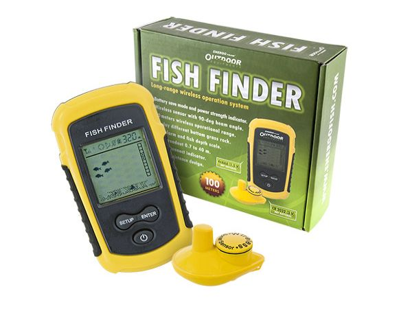 E.T. Outdoor Fish finder wireless