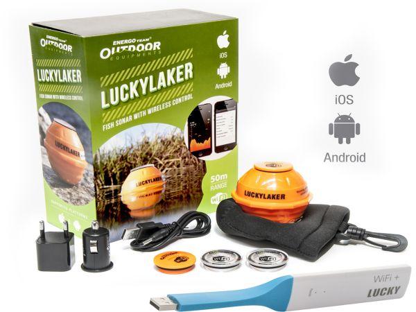 E.T. Outdoor Lucky Laker WiFi sonar