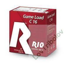 Lovački patron Rio Game Load 12/70-16/70 34gr 3.0mm-4.5mm