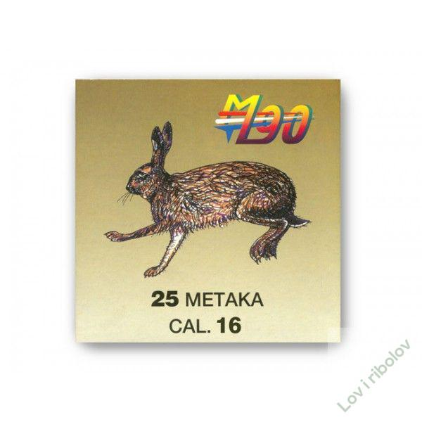 Lovački patron M90 16/70 32gr 3.0mm-5.0mm