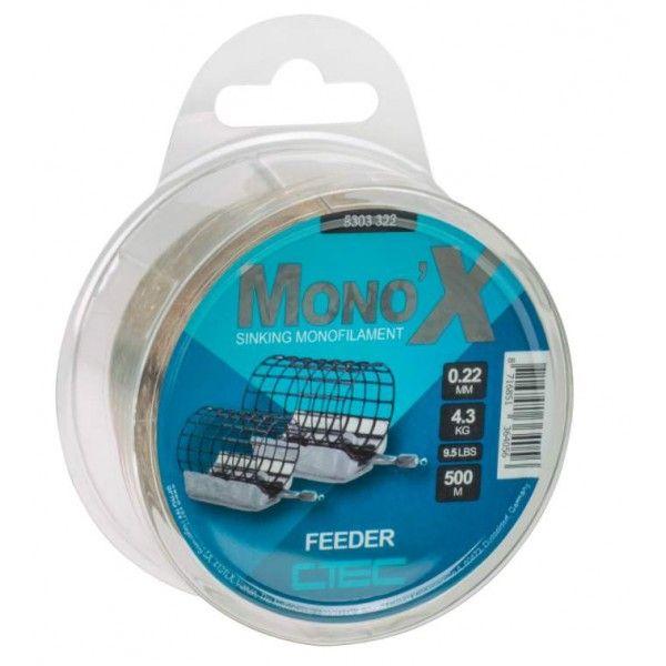 C-tec Mono X feeder brown 0,25mm/500m