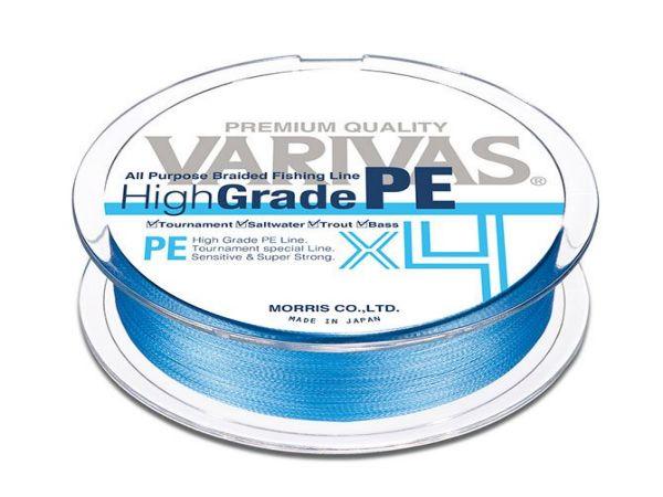 Varivas High grade PEx4 water blue 150m 0,185mm