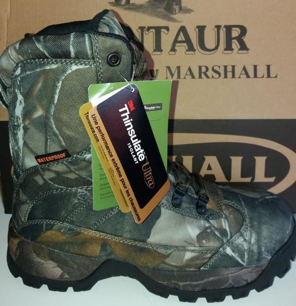 Marshall Centaur Camo outdoor waterproof boot