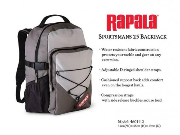 Rapala Sportsman 25l backpack