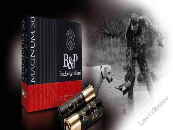 Lovacki patron B&P Magnum 50 12/76