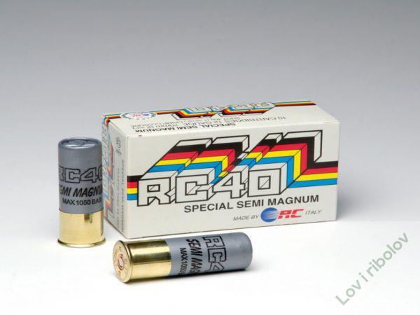 Lovacki patron RC 40 semi magnum 40gr 12/70 0,2,4