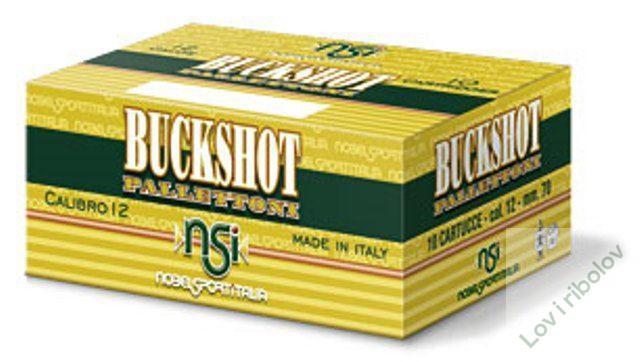 Lovacki patron Nobel Sport Buckshot 11/0 12/70 33gr