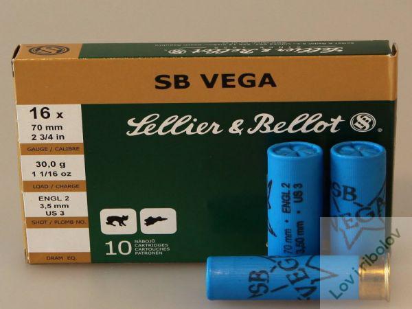 Lovački patron Sellier&Bellot SB Vega 16/70 30gr