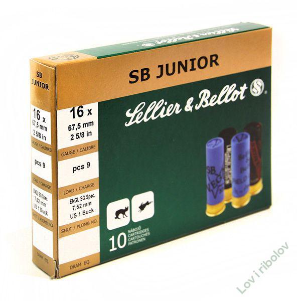 Lovački patron Sellier&Bellot SB Junior 16/70