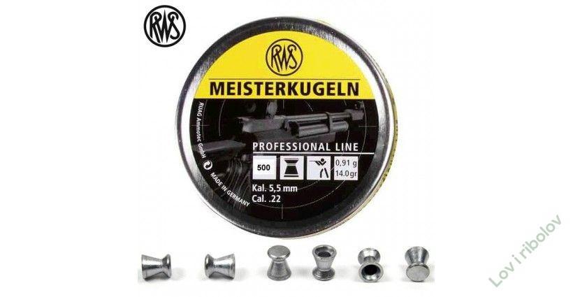 Dijabole RWS Meisterkugeln  1/500 4.5mm