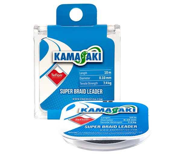 Kamasaki SUPER BRAID LEADER 0,18/10m