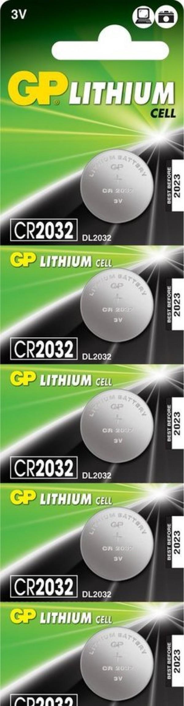 Baterija GP CP2032-C5 (1.kom)