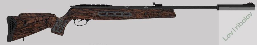 Vazdusna puska Hatsan Model 125 Sniper MW 4,5mm 380m/s
