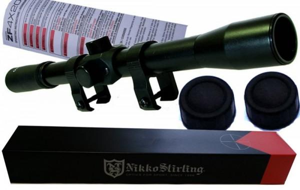 Nikko Stirling Mountmaster 4x20 sa nosacem