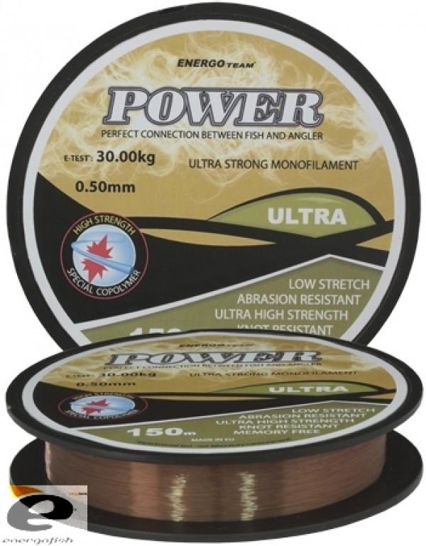 Najlon Energoteam Power ultra 0,30mm 150m