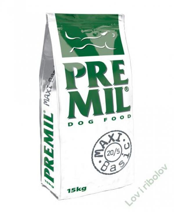 Hrana za pse Premil Maxi Basic 10kg 20/6