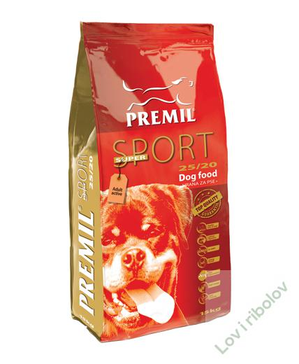 Hrana za pse Premil Super sport 15kg