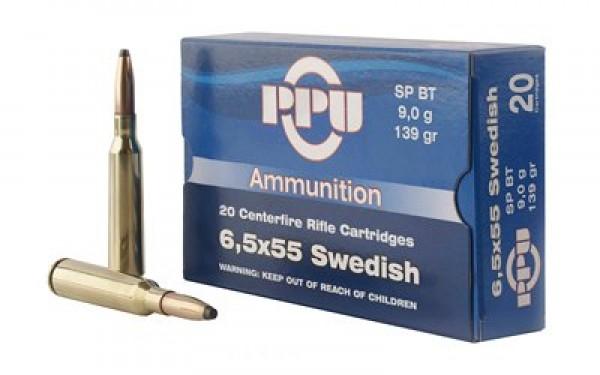 Karabinski metak PPU 6.5x55 SP 9gr