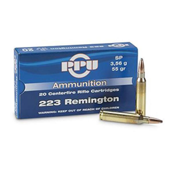 Karabinski metak PPU .223 Remington 3,56gr