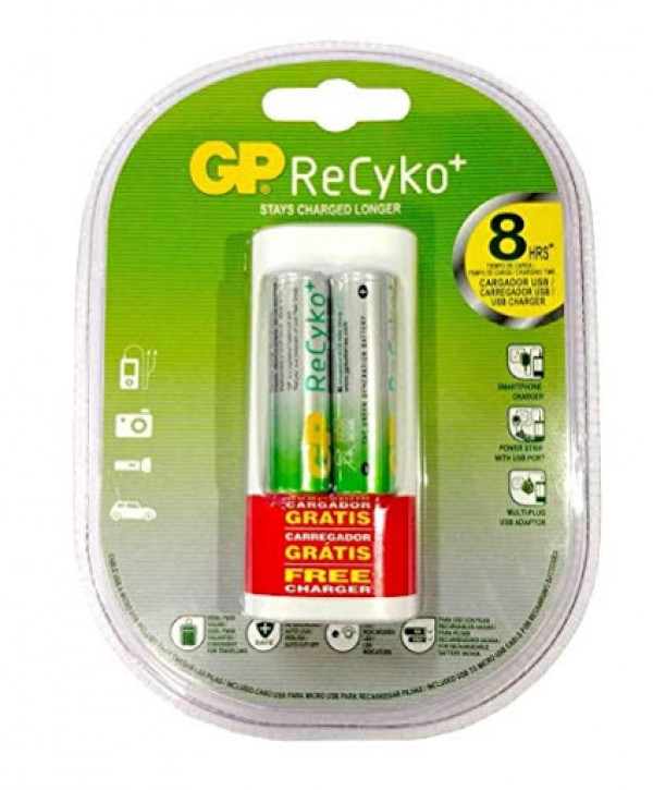 Baterija GP ReCyko+  free charge