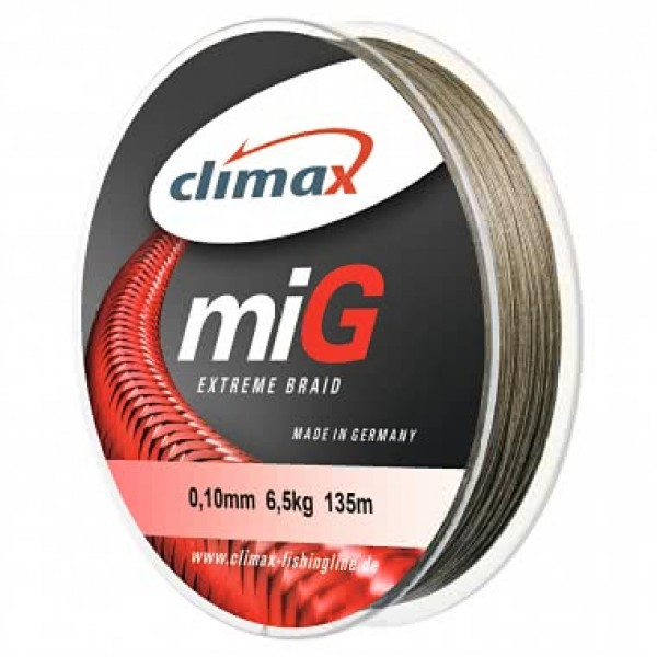 Climax MIG extreme braid 135m  green