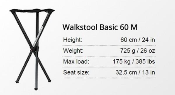 Tronozac Walkstool Basic 60cm