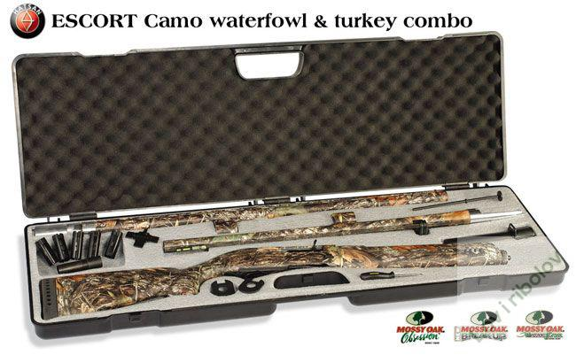 Lovačka puška Hatsan Escort Waterfowl & Turkey Combo camo 12/76