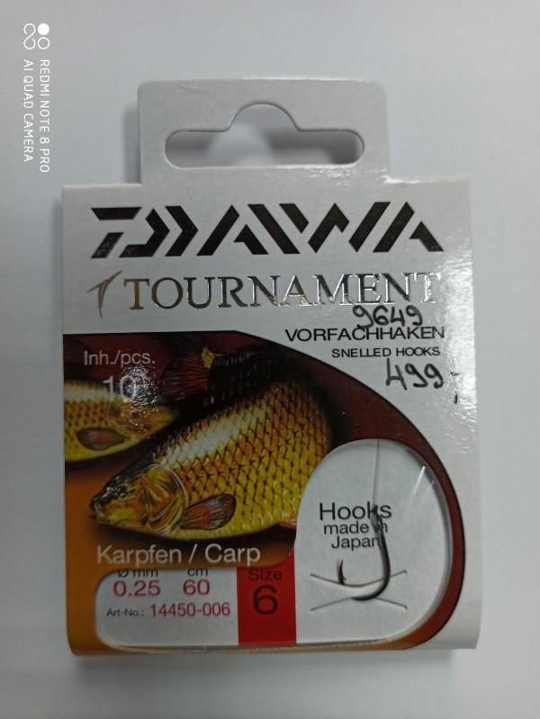 Udice Daiwa Tournament Carp