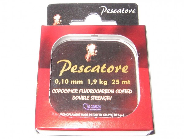Najlon Pescatore copolyner fluorocarbon coated double strength 25m