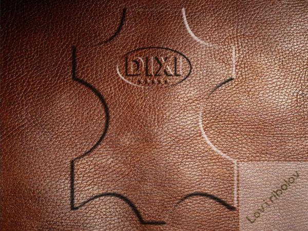 Okovratnik kožni Dixi 70cm/35mm